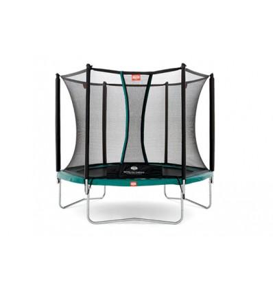 ✓ BERG Trampolin 240cm Talent inkl. sikkerhedsnet Comfort