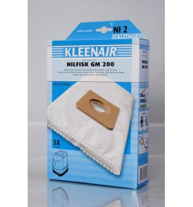 Kleenair NI 2 Støvsugerpose Nilfisk GM 200 (Microfibre)