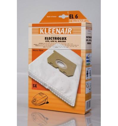 Kleenair EL 6 Støvsugerpose Electrolux Lite, Lite II, Bolero