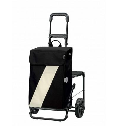 Image of   *DEMO* Komfort Shopper Vika Hvid - Indkøbsvogne Trolley på hjul