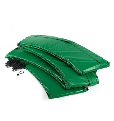 Kantbeskyttelse til trampolin grøn side