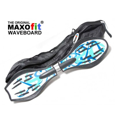Waveboard MAXOfit® Pro Close Mini Mauritius, op til 129kg, med LED hjul