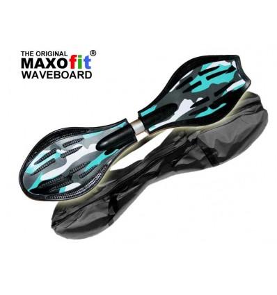 Waveboard MAXOfit® Pro Close Mini New Wave, op til 129 kg, med LED hjul