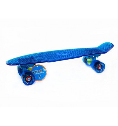 MAXOfit® Mini Retro Skateboard Amazonas