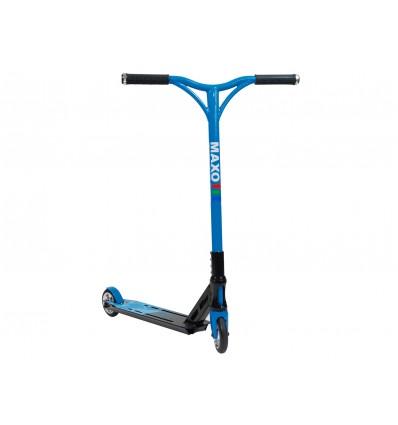 MAXOfit® Deluxe Stuntscooter Blueline