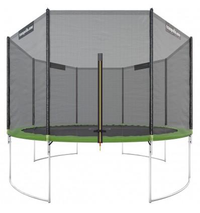 """Image of   Trampolin """"Starter"""" 366cm med sikkerhedsnet Grøn"""