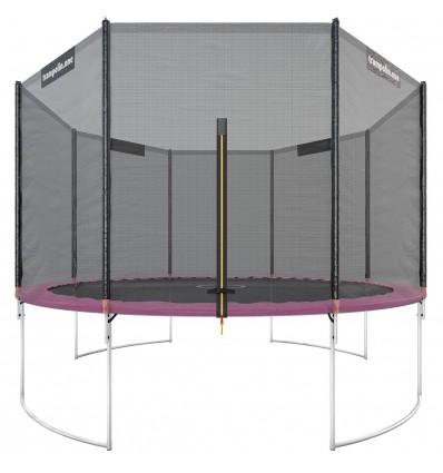 """Image of   Trampolin """"Starter"""" 366cm med sikkerhedsnet Pink"""