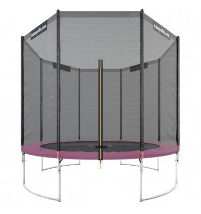 """Image of   Trampolin """"Starter"""" 305cm med sikkerhedsnet Pink"""