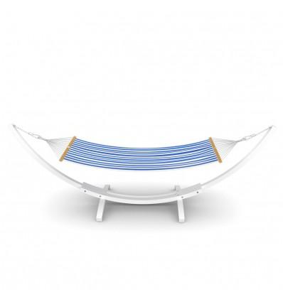 Image of   Hængekøjestativ Mauritius - Hvid | sæt inkl. hængekøje og stabiliseringssæt