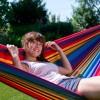 Hængekøje Farverig - 100 % bomuld - Uden tværpind