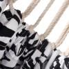 Hængekøje Zebra - 200 x 130 cm - Uden tværpind - Sort/hvid
