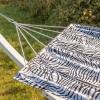 Hængekøje Zebra - Sort/hvid mønster