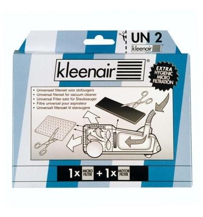 KLEENAIR Universal Klippefilter 1 x microfilter 1 x Motorfilter
