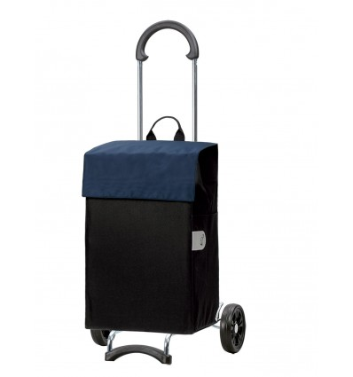 Image of Scala Shopper Hera - Indkøbsvogn Trolley på hjul blå