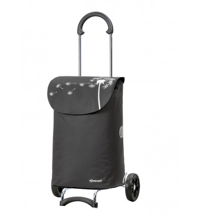 Image of Scala Shopper Bea - Indkøbsvogn trolley på hjul grå