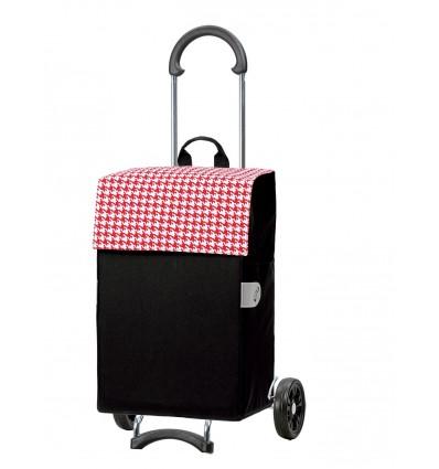 Scala Shopper Iko - Indkøbsvogn trolley på hjul rød