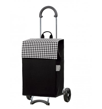 Image of Scala Shopper Iko - Indkøbsvogn trolley på hjul sort