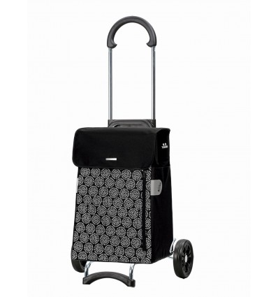 Image of Scala Shopper Muna - Indkøbsvogn trolley på hjul sort