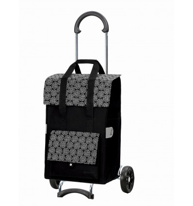 Image of Scala Shopper Vara - Indkøbsvogn trolley på hjul sort