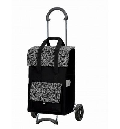 Scala Shopper Vara - Indkøbsvogn trolley på hjul sort