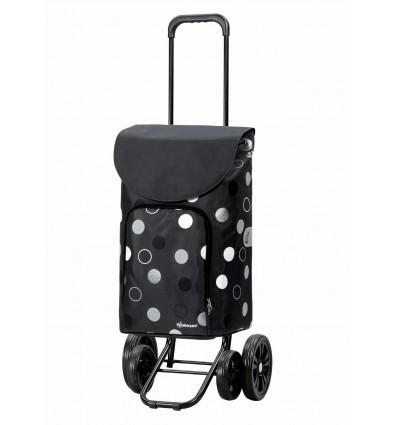 Image of   Quattro Shopper Kira - Indkøbsvogn Trolley på hjul grå
