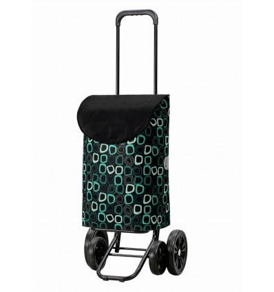 Quattro Shopper Lome - Indkøbsvogn Trolley på hjul
