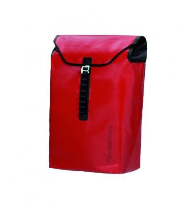 Image of   Andersen Shopper Ortlieb Taske rød