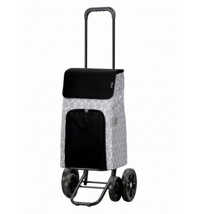Image of Quattro Shopper Henni - Indkøbsvogn Trolley på hjul Hvid