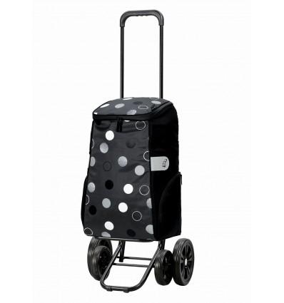 Image of   Quattro Shopper Sila - Indkøbsvogn Trolley på hjul grå