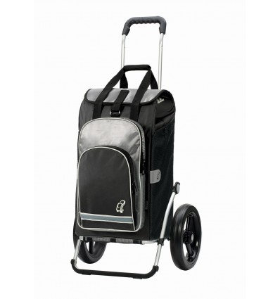 Image of   Royal Shopper Hydro ( 29 cm hjul) - Indkøbsvogn Trolley på hjul sort