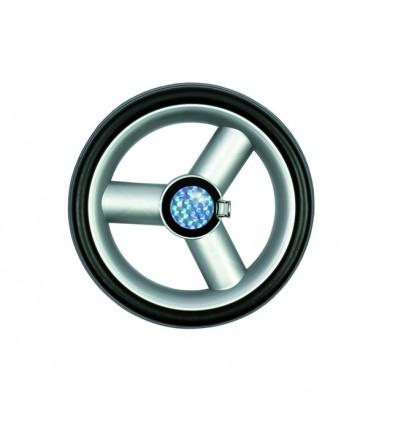Letvægtshjul Ø 17 cm, sølv