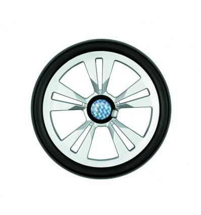 Letvægtshjul Ø 20 cm, Sølv