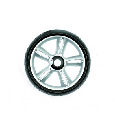 Kuglelejehjul Ø 25 cm, sølv