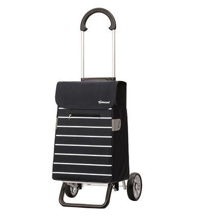 Scala Shopper Plus Lini- Indkøbsvogn Trolley på hjul blå
