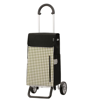 Scala Shopper Plus Tilly- Indkøbsvogn Trolley på hjul grøn