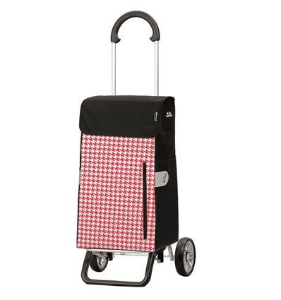 Scala Shopper Plus Tilly- Indkøbsvogn Trolley på hjul rød
