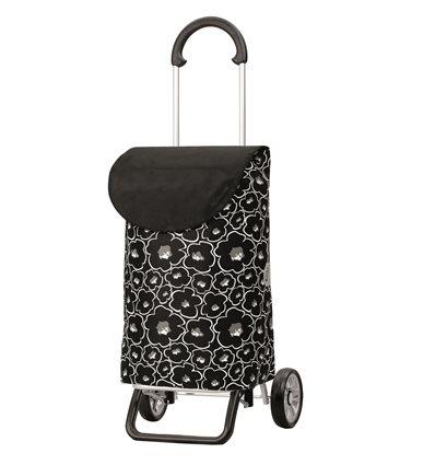 Image of   Scala Shopper Plus Lilo - Indkøbsvogn Trolley på hjul sort