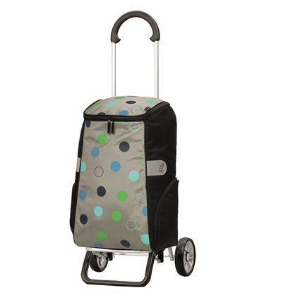 Scala Shopper Plus Sila - Indkøbsvogn Trolley på hjul