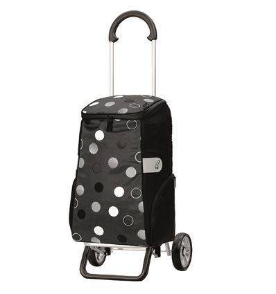 Scala Shopper Plus Sila - Indkøbsvogn Trolley på hjul grå