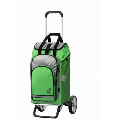 Image of   Alu Star Shopper Hydro - Indkøbsvogn Trolley på hjul grøn