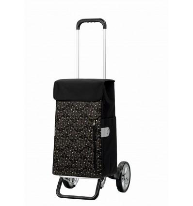 Image of   Alu Star Shopper Diva - Indkøbsvogn Trolley på hjul Guld