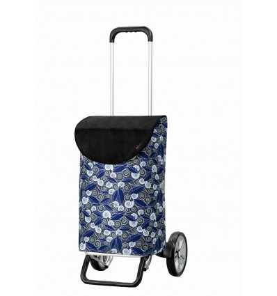 Image of Alu Star Shopper Susi- Indkøbsvogne Trolley på hjul blå