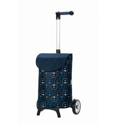 Billede af Unus Shopper Fun Hava - Indkøbsvogne Trolley på hjul blå
