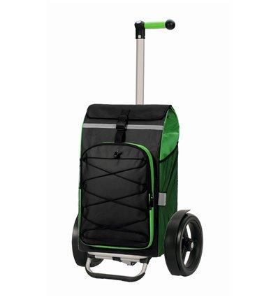 Tura Shopper Fado - Indkøbsvogn Trolley på hjul med ergonomisk håndtag