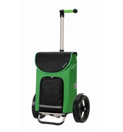 Tura Shopper Clint - Indkøbsvogn Trolley på hjul med ergonomisk håndtag