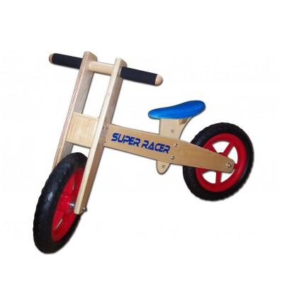 Dunjo® Træ løbecykel Roady Højdejusterbart sæde