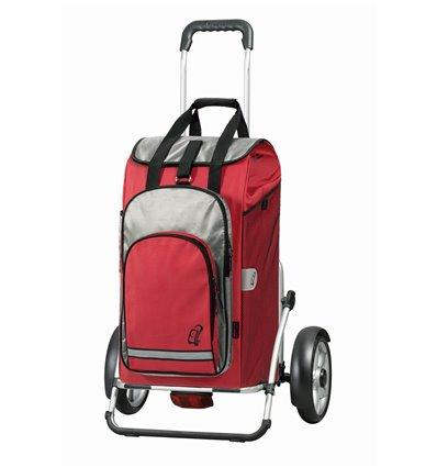 Image of   Royal Shopper Plus Hydro, hjul med kugleleje og beskyttelse - Indkøbsvogne Trolley på hjul rød