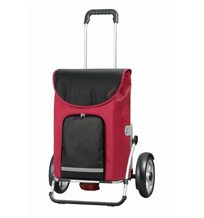 Billede af Andersen, Royal Shopper Plus Clint, hjul med kugleleje og beskyttelse - Indkøbsvogne Trolley på hjul rød