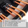 Fitness Trampolin 110 cm, med 72 Justerbar elastiske stropper