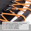 Fitness Trampolin 110 cm, med 6 Justerbar elastiske stropper
